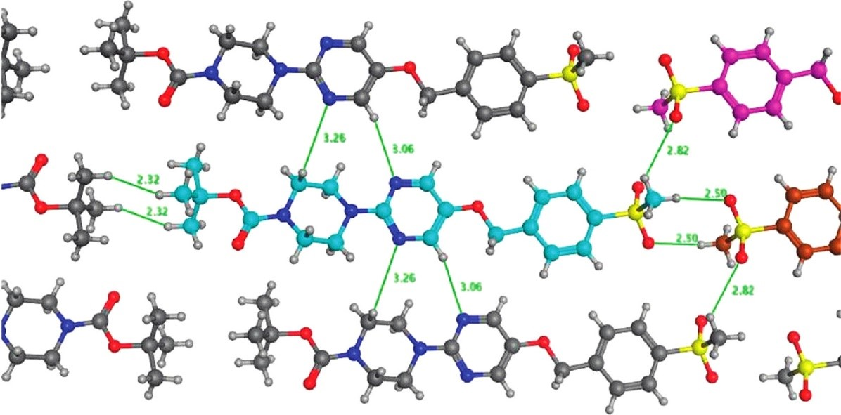 Motifs in the crystal structure of a potent GPR119 agonist